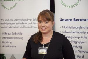 Melanie Kopf, Büroleitung in der neuen LAGS-Kontaktstelle im Teilhabetreff Bremen-Nord
