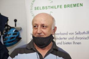 Rahmi Tuncer, Vorsitzender der Vereine Anadolu und Mosaik, Netzwerkpartner der LAGS Bremen
