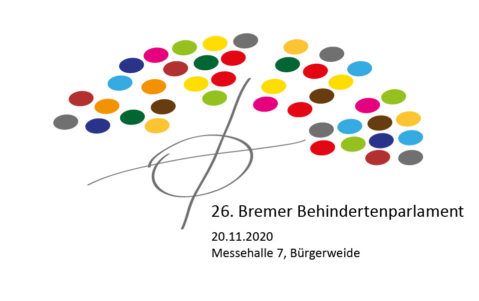 Logo Bremer Behindertenparlament