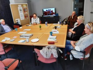 Vorbereitungstreffen für das Behindertenparlament mit dem EWW-Werkstattrat